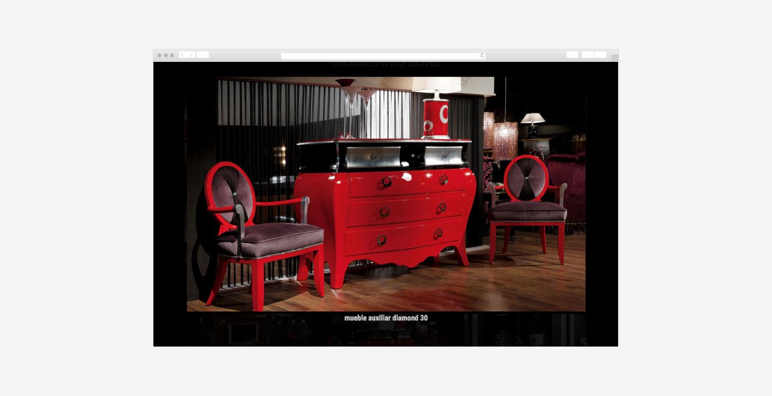 diseño web, diseño gráfico y campaña de marketing para tienda de ... - Tiendas Muebles Diseno