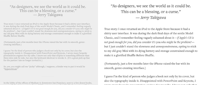 diseño web con buena tipografía
