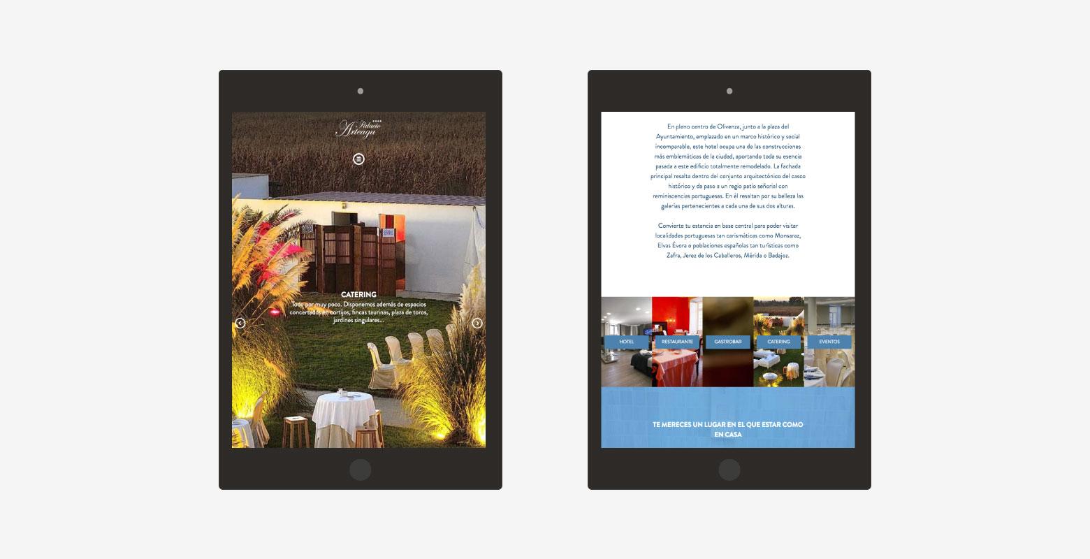 Diseño web y diseño gráfico para hotel de 4 estrellas - Diseño web ...