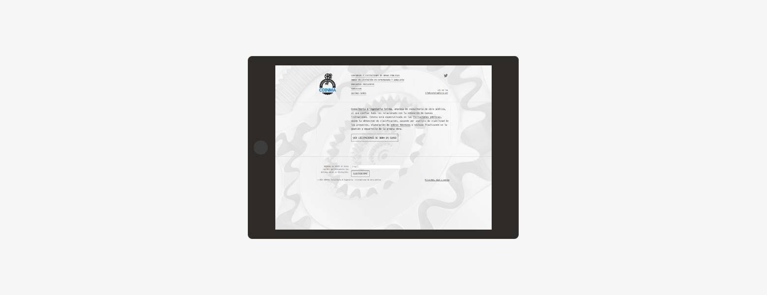 diseño web para empresa de ingeniería 01